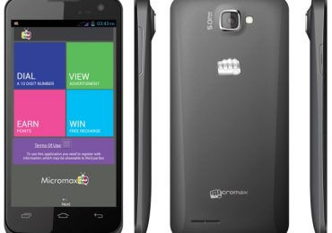 Get paid to watch ads with new Micromax MAd A94 smartphone