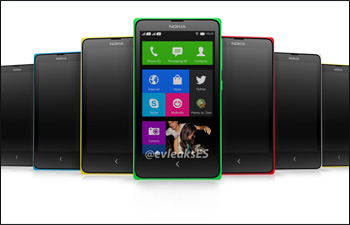 Nokia Normandy's latest leaked image shows multiple colors