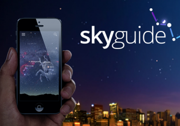 A great way to identify the stars Sky Guide App