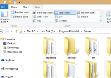 How to clean up File Explorer's cluttered Ribbon menu in Windows 8