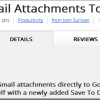 Gmail attachments with Chrome extension