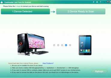 How to Recover Deleted or Lost data from Android Phone with Coolmsuter Lab.Fone for Android