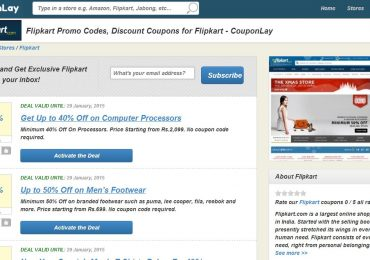 CouponLay.in – Online Coupon Website