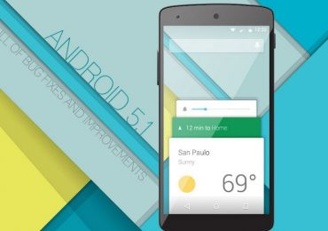 Officially announces Android 5.1 with HD Voice by Google