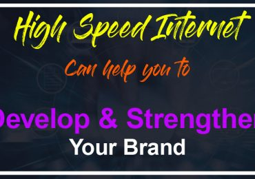 High speed internet can help you to develop and strengthen your brand at a trade show