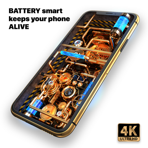 Wave Live Wallpapers Battery Smart